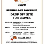 leaf drop off information